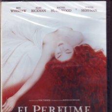 Cine: PRECINTADA EL PERFUME (HISTORIA DE UN ASESINO) DVD DIRECTOR TOM TYKWER.CON BEN WHISHAW,ALAN RICKMAN. Lote 51680852
