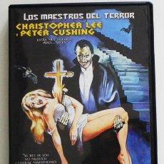 Cine: LOS RITOS SATÁNICOS DE DRÁCULA DVD PELÍCULA TERROR -NOVIA VAMPIRO REINA D ZOMBIS - LEE CUSHING CONDE. Lote 51688611
