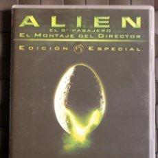 Cine: ALIEN, EL OCTAVO PASAJERO (1979) EDICIÓN COLECCIONISTA 2 DISCOS DIRECTOR´S CUT SIGOURNEY WEAVER. Lote 51691021