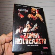 Cine: ZOMBI HOLOCAUSTO - MARINO GIROLAMI (FRANK MARTIN) DVD MUY RARA-DVD MANGA FILMS ORIGINAL. Lote 85566207