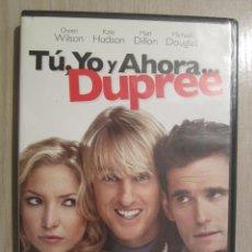 Cine: DVD TU YO Y AHORA DUPREE. Lote 44016444