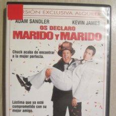 Cine: DVD OS DECLARO MARIDO Y MARIDO. Lote 51762989