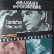 Cine: VISCONTI DOS PELICULAS EN 1 DVD. Lote 51796426