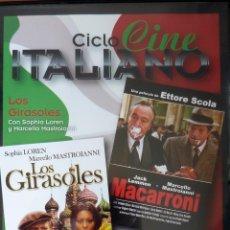 Cine: CINE ITALIANO 2 PELICULAS EN 1 DVD. Lote 51803419