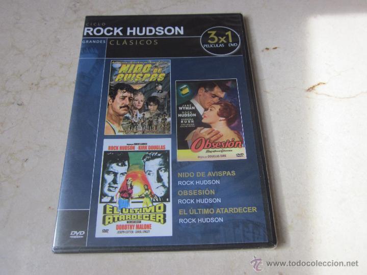 CICLO ROCK HUDSON - NIDO DE AVISPAS, OBSESION Y EL ULTIMO ATARDECER (Cine - Películas - DVD)