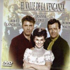 Cine: EL VALLE DE LA VENGANZA. DVD CON BURT LANCASTER. Lote 51820716