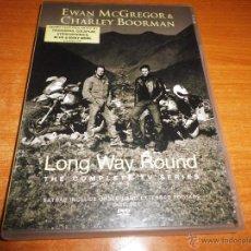 Cine: EWAN MCGREGOR & CHARLEY BOORMAN LONG WAY ROUND 2 DVD 2004 RADIOHEAD COLDPLAY STEREOPHONICS BLUR. Lote 51884448