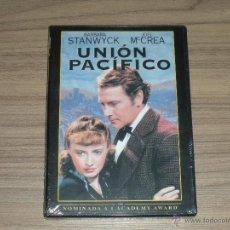 Cine: UNION PACIFICO DVD DE CECIL B. DE MILLE BARBARA STANWYCK JOEL MCCREA NUEVA PRECINTADA. Lote 104373196