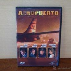 Cine: AEROPUERTO - BURT LANCASTER- DEAN MARTIN -JACQUELINE BISSET - DVD . Lote 70528969