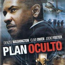 Cine: DVD PLAN OCULTO DENZEL WASHINGTON . Lote 52010839