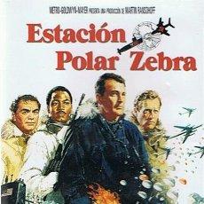 Cine: DVD ESTACIÓN POLAR ZEBRA ROCK HUDSON. Lote 52011029