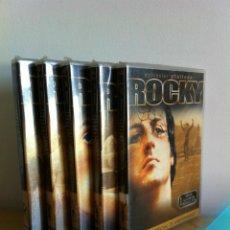 Cine: ---ROCKY I, II, III, IV Y V.---EDICIÓN ESPECIAL---25 ANIVERSARIO---SIN DESPRECINTAR--- VER FOTOS ---. Lote 42197526