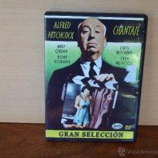 Cine: ALFRED HITCHCOCK - CHANTAJE - DVD COLECCION GRAN SELECCION. Lote 52085301