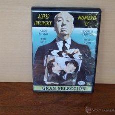 Cine: ALFRED HITCHCOCK - NUMERO 17 - DVD COLECCION GRAN SELECCION. Lote 52089809