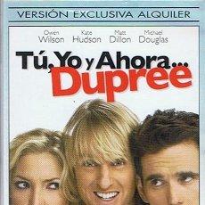 Cine: DVD TÚ,YO Y AHORA... DUPREE OWEN WILSON. Lote 52151775