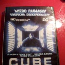 Cine: DVD CUBE. Lote 52164229