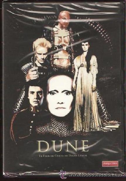 'DUNE', DE DAVID LYNCH. FILM DE CULTO. VERSIÓN EXTENDIDA. DVD NUEVO Y PRECINTADO. (Cine - Películas - DVD)