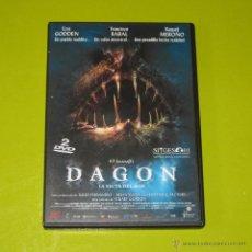 Cine: DVD.- DAGON LA SECTA DEL MAR (ED.ESP 2 DVDS) - RAQUEL MEROÑO - STUART GORDON. Lote 55914124