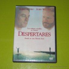Cine: DVD.- DESPERTARES - ROBERT DE NIRO - ROBIN WILLIAMS - DESCATALOGADA. Lote 52302473
