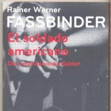 Cine: EL SOLDADO AMERICANO DVD (FASSBINDER) DESCATALOGADA Y MAGISTRAL. Lote 52303500