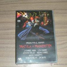 Cine: DRACULA VS FRANKENSTEIN DVD NUEVA PRECINTADA. Lote 295625973