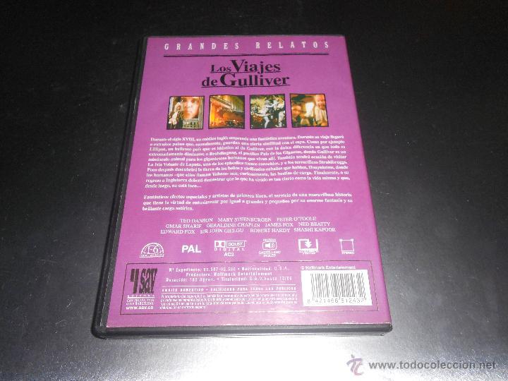los viajes de gulliver - dvd - grandes relatos - Comprar