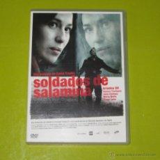 Cine: DVD.- SOLDADOS DE SALAMINA - DAVID TRUEBA - ARIADNA GIL - DIEGO LUNA - DESCATALOGADA. Lote 52316491