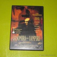 Cine: DVD.- LA SOMBRA DEL VAMPIRO - JOHN MALKOVICH - WILLEM DAFOE. Lote 52316503
