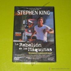 Cine: DVD.- LA REBELION DE LAS MAQUINAS - STEPHEN KING - EMILIO ESTEVEZ - DESCATALOGADA - PRECINTADA. Lote 55414357