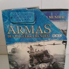 Cine: ARMAS DE LA II GUERRA MUNDIAL -BBC -10 CAPITULOS -5 DVD -250 MIN -2004. Lote 52350912