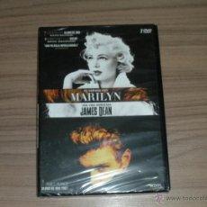 Cine: UNA VIDA INVENTADA JAMES DEAN + MI SEMANA CON MARILYN EDICION ESPECIAL 2 DVD NUEVA PRECINTADA. Lote 295996193