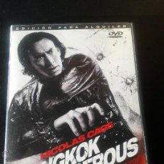 Cine: BANGKOK DANGEROUS **DE OXIDE PANG CHUN, DANNY PANG CON NICOLAS CAGE, SHAHKRIT YAMNARM. Lote 52473609