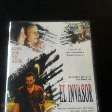 Cine: EL INVASOR **DE BETO BRANT CON MARCO RICA, ALEXANDRE BORGES **DESCATALOGADA **PREMIADA **DE CULTO. Lote 52474310
