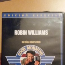 Cine: DVD DE GOOD MORNING VIETNAM - ROBIN WILLIAMS. Lote 52479308