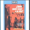 Cine: ¿QUIEN PUEDE MATAR A UN NIÑO ? DVD - LLEGAN A UNA ISLA DONDE , EXTRAÑAMENTE, SOLO HABÍA NIÑOS. Lote 40312160