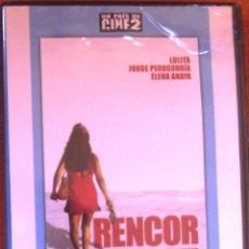 Cine: DVD RENCOR 2002 LOLITA FLORES, JORGE PERUGORRÍA, ELENA ANAYA 106 MINUTOS. Lote 52507537