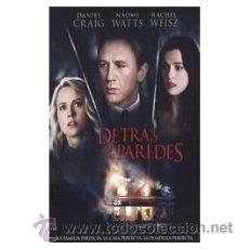 Cine: DETRAS DE LAS PAREDES DVD . Lote 52575935