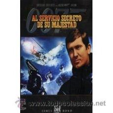 Cine: AL SERVICIO SECRETO DE SU MAJESTAD DVD . Lote 52576378