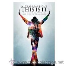 Cine: MICHAEL JACKSON'S THIS IS IT DVD . Lote 52576679