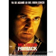 Cine: PAYBACK DVD . Lote 52577109