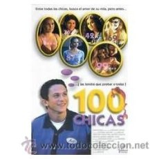Cine: 100 CHICAS DVD . Lote 52578174