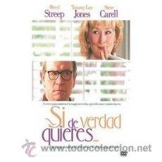 Cine: SI DE VERDAD QUIERES DVD . Lote 52578720