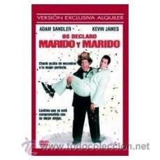 Cine: OS DECLARO MARIDO Y MARIDO DVD . Lote 52579173