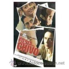 Cine: LA FIESTA DEL CHIVO DVD. Lote 52580868
