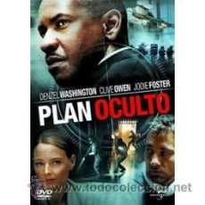 Cine: PLAN OCULTO DVD . Lote 52581007