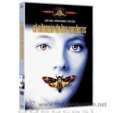 Cine: EL SILENCIO DE LOS CORDEROS DVD . Lote 52581445
