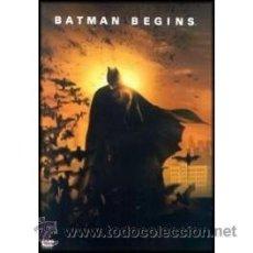 Cine: BATMAN BEGINS DVD . Lote 52581825
