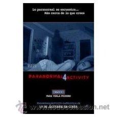 Cine: PARANORMAL ACTIVITY 4 DVD . Lote 52584045