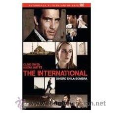 Cine: THE INTERNATIONAL DINERO EN LA SOMBRA DVD . Lote 52584352