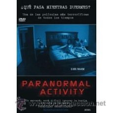 Cine: PARANORMAL ACTIVITY DVD . Lote 52584732